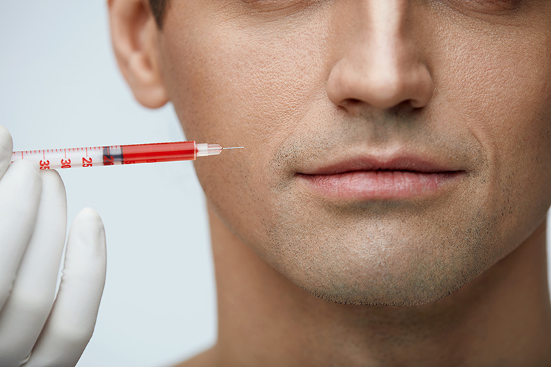 Skin treatment Platelet Rich Plasma
